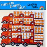 Pumpkin Shapes Sorting Mats