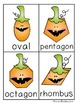 Pumpkin Shapes Write / Stamp the Room Activity Pack
