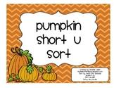 Pumpkin Short u Sort