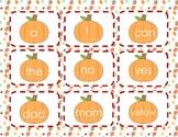 Pumpkin Sight Word Game
