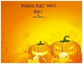 Pumpkin Sight Word Match
