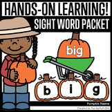 Pumpkin Sight Word Packet