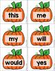 Halloween Sight Word Game