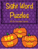 Pumpkin Sight Words
