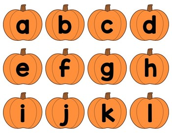 Pumpkin Sight Words: A Monthly Word Work Centre {Editable}