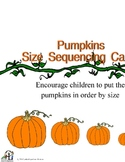 Pumpkin Size Sequencing Activity
