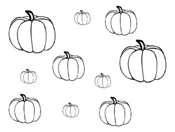 Pumpkin Size Sort