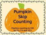 Pumpkin Skip Counting