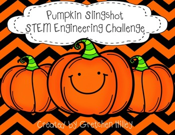 Pumpkin Slingshot STEM Engineering Challenge