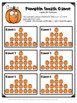 Pumpkin Activity: Pumpkin Smash Game for Thanksgiving Activity or Fall Activity