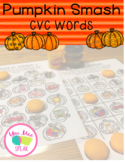 Pumpkin Smash for CVC Words PRINT and GO!