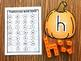Pumpkin Snap Block Alphabet Mats