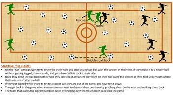 Pumpkin Soccer Patch