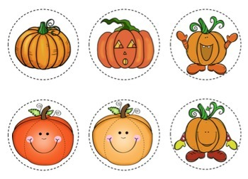 Pumpkin Song Cards