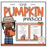 Pumpkin Song Cards