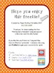 """Pumpkin Song Printable for Fall """"Picking Out a Pumpkin"""" - Circle Time Poem"""