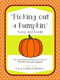"""Pumpkin Song Printable for Fall """"Picking Out a Pumpkin"""" -"""