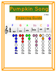 Pumpkin Song for Recorder and Piano