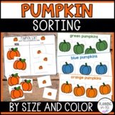 Sorting Pumpkins By Size - Big and Small