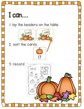 Pumpkin Sort (Is it odd or even?)