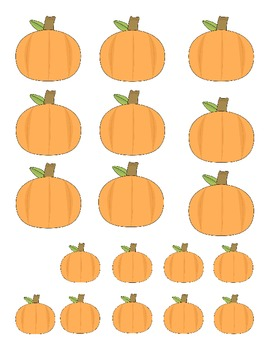 Pumpkin Sorting - Big and Small