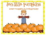 Pumpkin Sorting Fun with Numbers 1-10