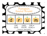 Pumpkin Sound Boxes
