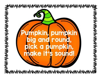 Pumpkin Sound Pull and Record