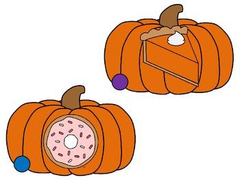 Pumpkin Sounds {A Beginning Sound Center}
