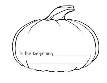 Pumpkin Soup Beginning, Middle, End Packet