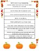 Pumpkin Soup Fall Recipe and Sequencing Activity
