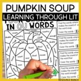 Pumpkin Soup Learning Through Literature Book Companion