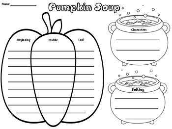 Pumpkin Soup Story Elements