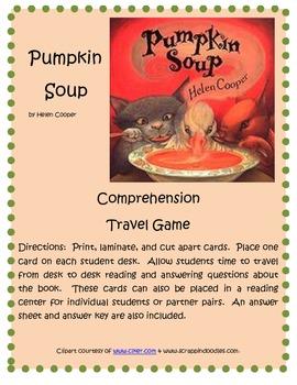 Pumpkin Soup Travel Game