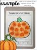 Pumpkin {Speech & Language Dot Art}