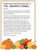 Pumpkin Spice Classroom Newsletter for October, 3 designs, all editable!