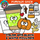 Pumpkin Spice Clipart {Scrappin Doodles Clipart}