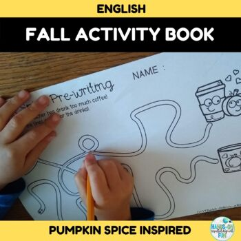 Pumpkin Spice Coffee and Donuts Activity Pack