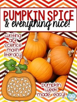 Pumpkin Activities: Pumpkin Spice & Everything Nice!