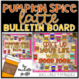 Pumpkin Spice Latte Bulletin Board