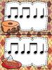 Pumpkin Spice Rhythm Activity Worksheets