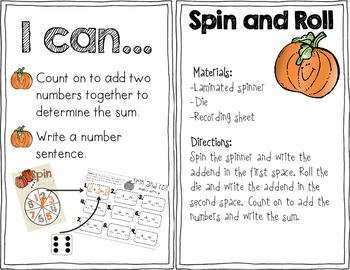 Pumpkin Spin and Roll