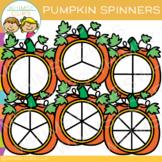 Pumpkin Spinners Clip Art