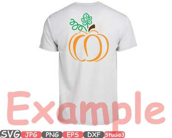 Pumpkin Split & Circle Fall Thankgiving clipart Halloween studio3 autumn -45sv