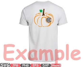 Pumpkin Split & Circle Fall Thankgiving clipart Halloween studio3 autumn -708s