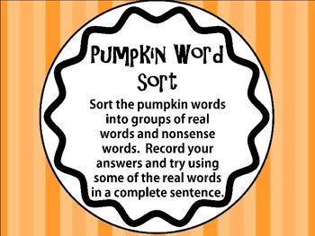 Pumpkin Station Packet