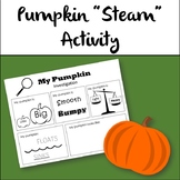 "Pumpkin ""Steam"" Activity"