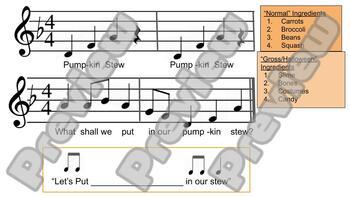 Pumpkin Stew Music Activity