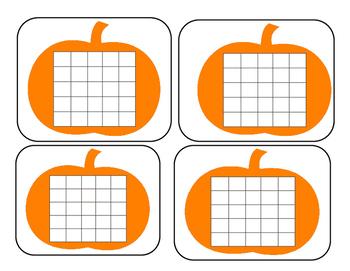 Pumpkin Sticker Chart
