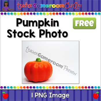Pumpkin Stock Photo Freebie